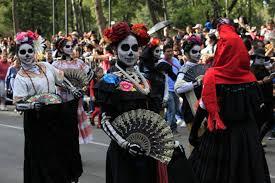 Desfile día de muertos en la Ciudad de México